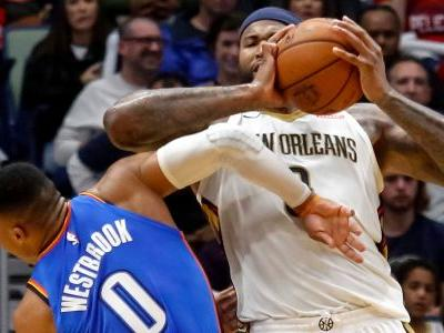 Pelicans rally after Cousins ejection, beat Thunder