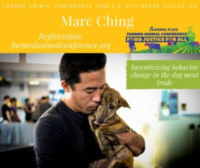 On Sunday, June 4, Marc Ching will be speaking at our Farmed