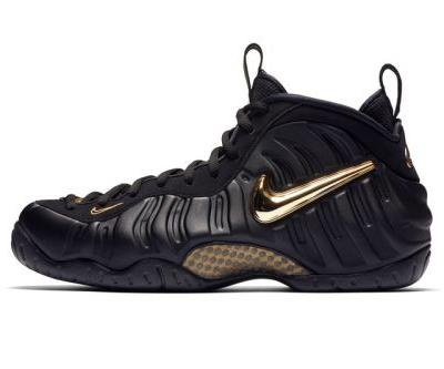"Nike's Air Foamposite Pro Gets Dressed in ""Black/Metallic Gold"" for Fall"