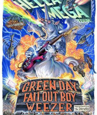 """Green Day, Weezer, Fall Out Boy announce """"Hella Mega Tour"""""""