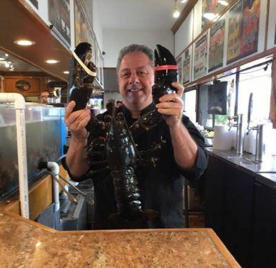 Louie the 132-year-old lobster has finally been freed after 20 years in a restaurant