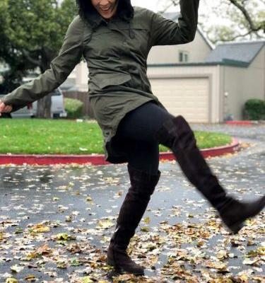 An Awesome and Affordable $40 Raincoat: The Women's Anorak Jacket at Target