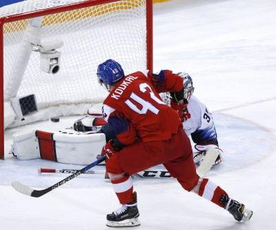 US men's hockey team eliminated after shootout loss
