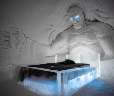 """Stay In a """"Game of Thrones"""" Ice Hotel in Finland"""