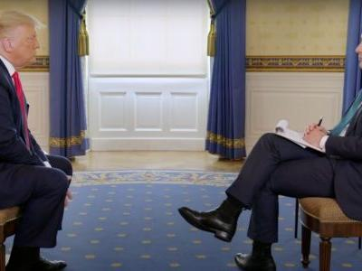 Twitter Collectively Loses Its Mind Over Trump's Insane Interview With Axios: 'I CAN'T BELIEVE THIS IS REAL!!'