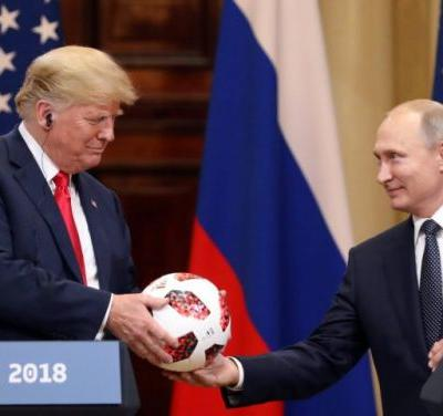 A 'happy' Vlad and an uncritical Trump: Was the summit proof Russia has something on Trump?