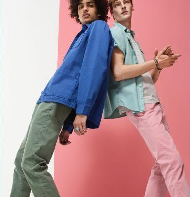 Gap Makes a Stylish Case for Colored Denim