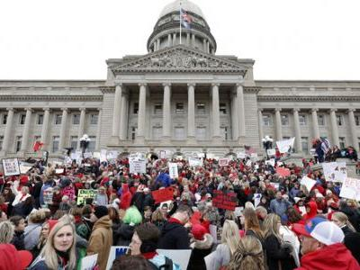 Kentucky Supreme Court Strikes Down Pension Law That Sparked Teacher Protests