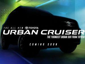 Toyota Officially Teases Urban Cruiser Ahead Of Its India Launch This Festive Season