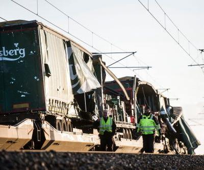 6 killed and more injured in Danish train accident