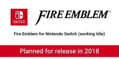 Nintendo Confirms New Fire Emblem Title For The Switch