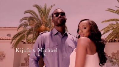 How were Mike Vick and wife Kijafa on the first two episodes of 'Baller Wives'?