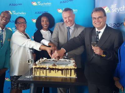 Air Seychelles Introduces Africa's First A320Neo To the Capital of Gauteng