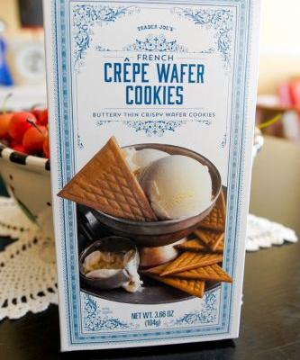 Sweet on Trader Joe's Sunday: French Crepe Wafer Cookies