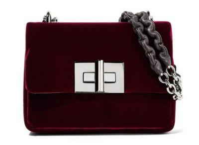 2016's Velvet Bags Trend is Back and Bigger Than Ever for Fall 2017