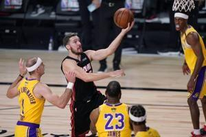 Heat's Dragic doubtful for second half with left foot injury