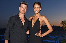 Robin Thicke & Girlfriend April Love Geary Expecting a Baby