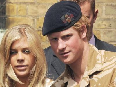 "Prince Harry and His Ex-GF Apparently Had a ""Tearful"" Phone Call Before His Wedding and We're Like Wait, What?!"