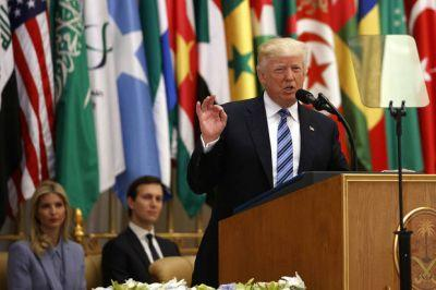 The Latest: Trump calls on Muslim leader to combat extremism