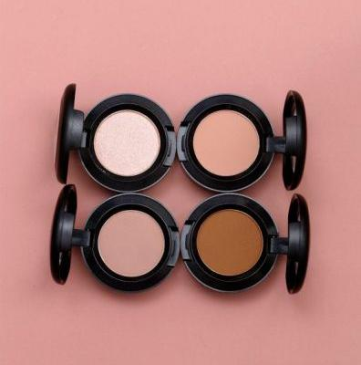 The MAC Throwback Eye Shadows in Kid, Uninterrupted, Tete-A-Tint and Goldbit Are Available Meow