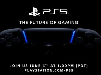 PS5: The Future of Gaming presentation will take place June 4