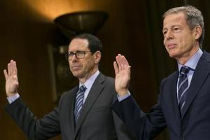 AT&T, Time Warner CEOs expected to take the stand this week in landmark antitrust trial