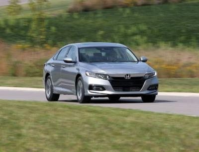 2018 Honda Accord 1.5T Automatic Tested: Base with Grace