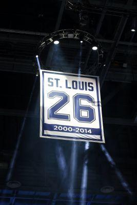 Franchise first: Lightning retire Martin St. Louis' No. 26
