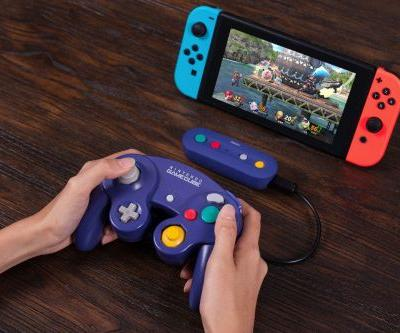 This Nintendo Switch adapter turns your GameCube controllers wireless