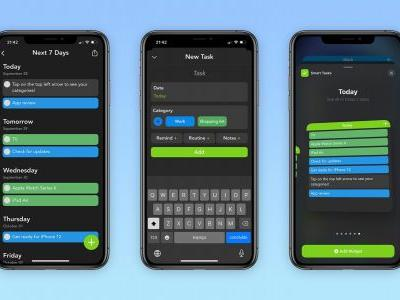 Smart Tasks app lets you easily organize your entire week, now with iOS 14 home screen widgets