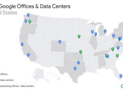 Google Significantly Expanding US Office, Data Center Presence