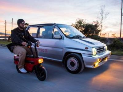 Honda City Turbo II and Motocompo Make a Perfect Pair