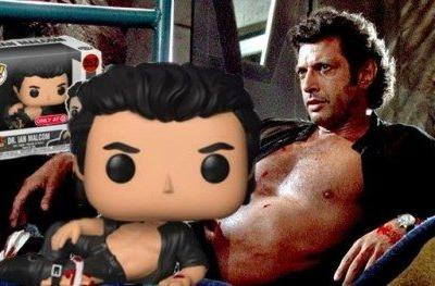 Shirtless Jeff Goldblum Gets a Jurassic Park Funko Pop ToyA new