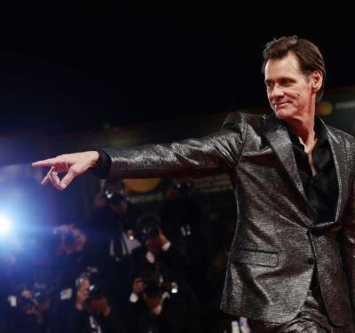 Jim Carrey tries to explain the very, very strange interview he gave at New York Fashion Week: 'Who's Jim Carrey?'