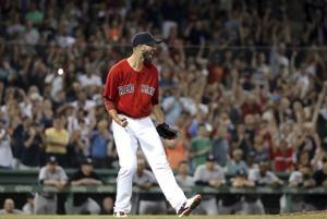 Porcello's 1-hitter leads Red Sox over Yankees 4-1