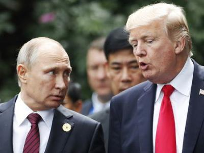 Trump, Putin Issue Joint Statement On Defeating Syria
