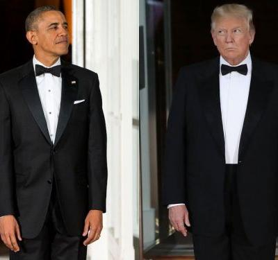 Trump just threw his very first state dinner -and it reveals key differences between him and Obama