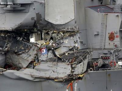 Naval Commanders In 2 Deadly Ship Collisions To Be Charged With Negligent Homicide
