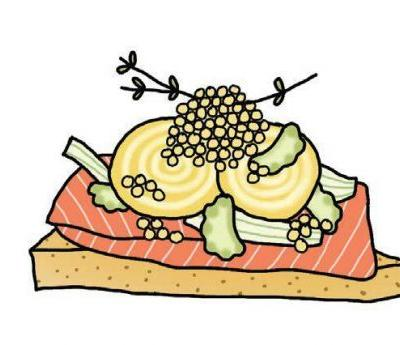 Smorgasbord, Illustrated: Check Out The Art Of Swedish Food