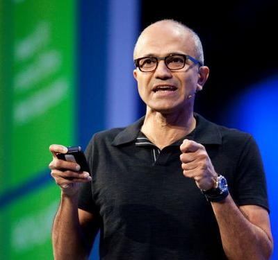 Microsoft CEO Satya Nadella says too many people use their phones to consume, not create - and thinks its Teams chat app can help restore 'balance'