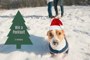Win a PooVault for your winter walks! {2 winners}