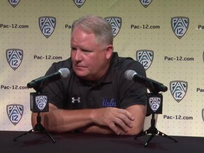 2019 Pac-12 Football Media Day: Chip Kelly says 'habits must reflect' the mission of UCLA's squad