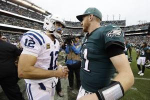 Carson Wentz leads Eagles to 20-16 comeback win over Colts