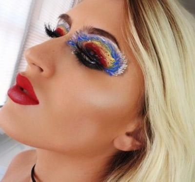 People Are Not Happy About This Makeup Artist's Hurricane Irma-Inspired Look