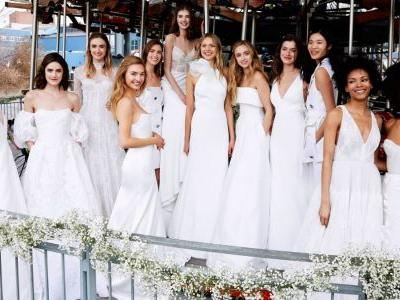 The Meghan Markle Effect is Still Going Strong on the Spring 2020 Bridal Runways