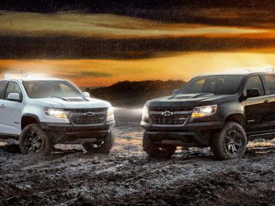 Chevy Adds ZR2 Midnight And Dusk Edition Models To Colorado Lineup
