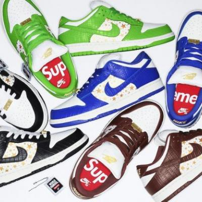 The Release Date for Supreme X Nike SB Dunk Low Is Out