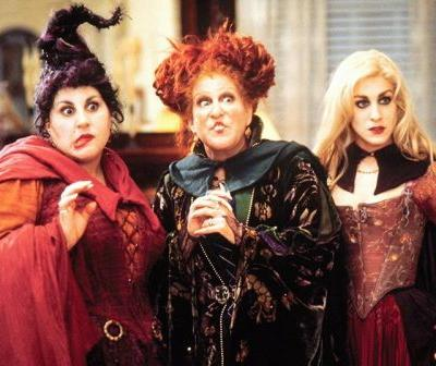 Bette Midler Reveals First Look at the Sanderson Sisters for Hocus Pocus Reunion