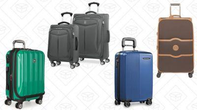 Prepare For Your Next Getaway With Amazon's Massive One-Day Luggage Sale