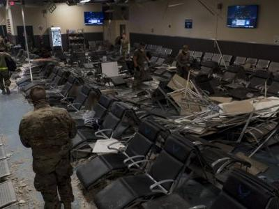 The Taliban launched an intense hours-long attack on a key US base. These aftermath photos show the heavy damage